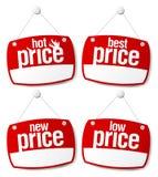 самые лучшие знаки цены Стоковые Изображения