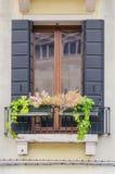 Самые лучшие окна в красивом городе Венеции стоковые фото