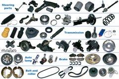 Самые популярные запасные части для автомобиля Стоковое Изображение