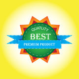Самые лучшие качественные дизайны бирки Стоковые Фотографии RF