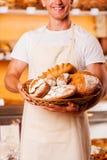 Самые лучшие хлебобулочные изделия в городке Стоковое Изображение
