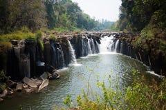 Самый большой водопад в Лаосе стоковые фото