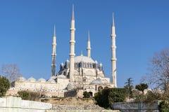 самый большой индюк selimiye мечети edirne стоковое изображение
