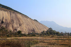 Самый большой камень в Азии стоковые изображения