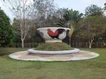 Самый большой шар Таиланда Стоковая Фотография