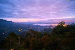 Самый высокорослый пик в северном toraja, Pong Torra Стоковое фото RF