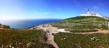 Самый западный пункт Европы, Cabo da Roca, Португалии стоковая фотография rf