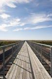 Самый длинний пешеходный мост в Канаде Стоковое фото RF