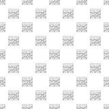 Самый лучший вектор картины диаграммы безшовный Стоковое Изображение
