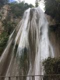 Самый лучший водопад Мексики стоковое фото rf