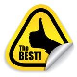 самый лучший отборный символ Стоковая Фотография