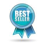 самый лучший продавец ярлыка Стоковые Фото