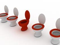 самый лучший туалет Стоковая Фотография