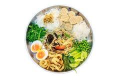 Самый очень вкусный поднос салата папапайи Стоковые Фото