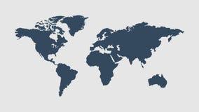 Самый популярный голубой вектор мира Стоковые Изображения
