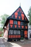 Самый старый дом в Kolding Стоковое Фото