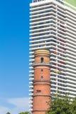 Самый старый маяк в Германии в Travemuende Стоковое Изображение