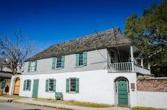 Самый старый дом - Августин Блаженный, FL Стоковая Фотография