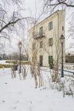 Самый узкий дом в мире в зиме 2871 стоковое изображение