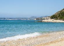 Самый лучший греческий пляж, Myrthos стоковое изображение