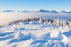 Самый лучший дом для остатков на холодное утро зимы Стоковое Фото