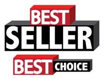 Самый лучший продавец и выбор стоковая фотография rf
