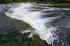 Самый широкий водопад в Европе Стоковое Изображение RF