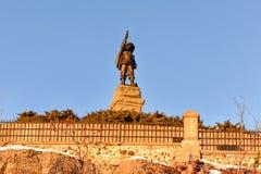 Самюэль de Champlain Статуя - Оттава, Канада Стоковое фото RF