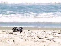 сандалии песочные Стоковые Фото