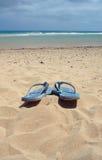 сандалии пляжа Стоковые Изображения RF