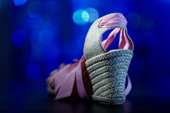 сандалия strappy Стоковое Фото