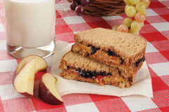сандвич арахиса масла Стоковое Изображение