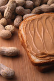 сандвич арахиса масла Стоковое фото RF