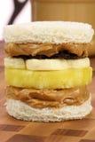 сандвич арахиса студня масла вкусный Стоковое фото RF
