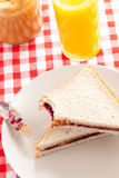 сандвич арахиса студня масла Стоковые Изображения RF