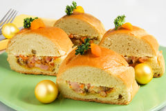 Сандвич багета Стоковая Фотография RF