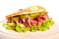 Сандвич говядины стоковые фото