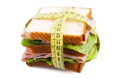 сандвич диетпитания стоковое изображение rf