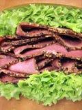 сандвич жаркого говядины Стоковые Изображения
