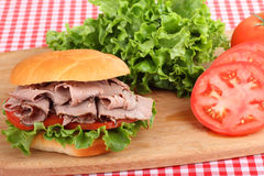 сандвич жаркого говядины Стоковая Фотография RF