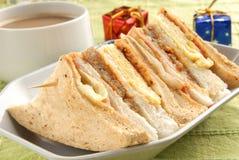 сандвич клуба стоковая фотография