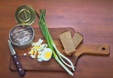 сандвич компонентов эстонский национальный Стоковое Изображение RF