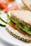 сандвич лакомки стоковые фото