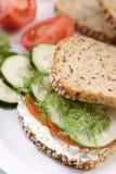 сандвич лакомки стоковое фото