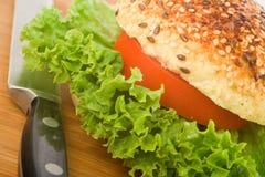 сандвич ножа Стоковые Изображения