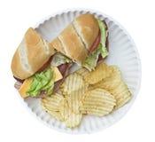 сандвич обломоков Стоковая Фотография