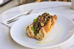 сандвич овечки лакомки Стоковое Фото