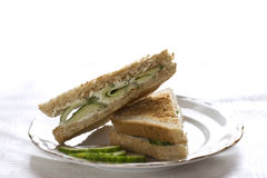 сандвич огурца Стоковая Фотография RF