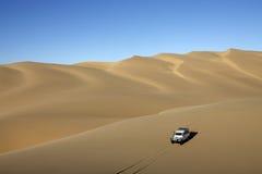 сандвич песка Намибии гавани дюн Стоковые Фото