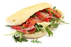 сандвич салями Стоковая Фотография RF